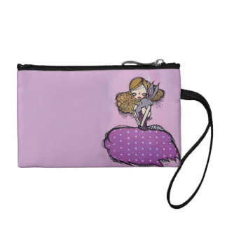 Curiouser and Curiouser Key Coin Clutch