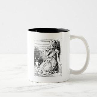 Curiouser and curiouser! coffee mug