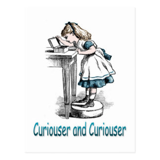 Curiouser and Curiouser Postcard