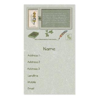 Curiouser and Curiouser Standard Business Card