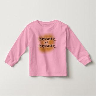 Curiouser and Curiouser T-shirts, Mugs, Apparel Toddler T-shirt