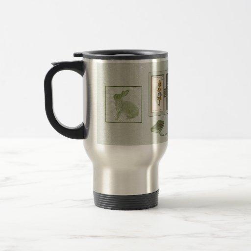 Curiouser and Curiouser Travel Mug Coffee Mugs