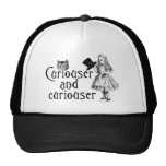 Curiouser and curiouser trucker hat