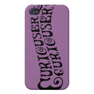 Curiouser & Curiouser Covers For iPhone 4