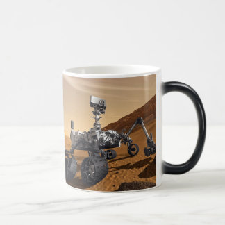 Curiousity Mars Rover, Planetary Space Mission, Magic Mug