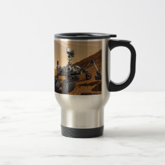 Curiousity Mars Rover, Planetary Space Mission, Travel Mug