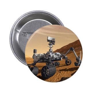 Curiousity Marte Rover misión espacial planetaria Pin