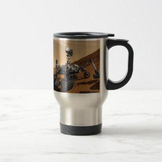 Curiousity Marte Rover, misión espacial planetaria Taza De Café