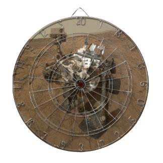 Curiousity Rover Dartboard With Darts
