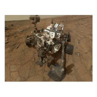 Curiousity Rover Postcard