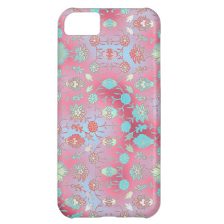 Curiously Colorful Floral iPhone 5C Cases