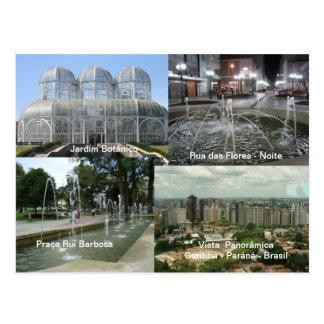 Curitiba - Paran3a Postcard