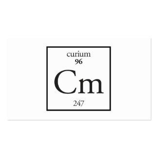 Curium Business Card Template