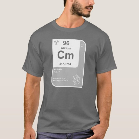 Curium (Cm) T-Shirt