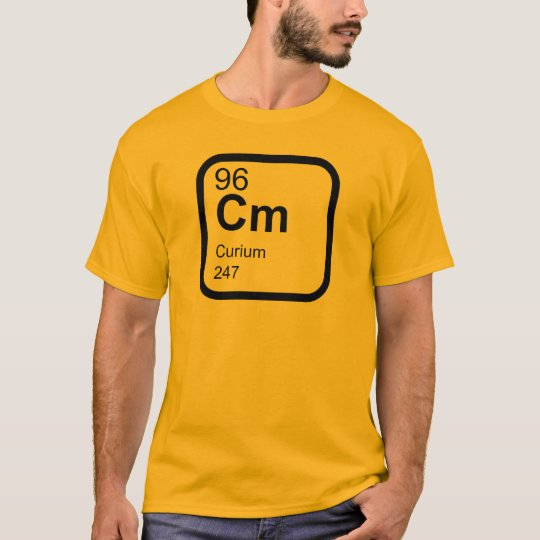 Curium - Periodic Table science design T-Shirt
