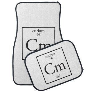 Curium Car Mat