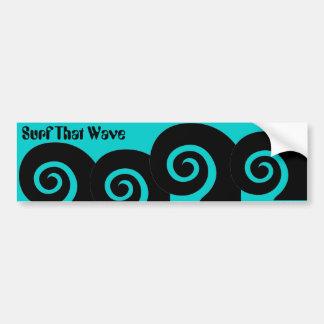 Curl Bumper Sticker