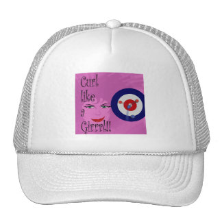 Curl like a Girrrl! Trucker Hat
