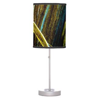 """""""Curl On Wood"""" JTG Art Table Lamp"""