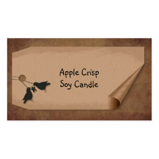 Curl Tag Crows Hang Tag Business Card