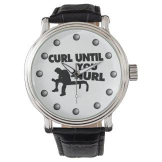 Curl Until You Hurl Wrist Watch