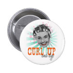 Curl Up and Dye Button
