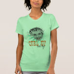 Curl Up and Dye Ladies Lime Shirt