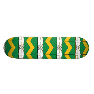 Curle Family Crest Skate Board Deck