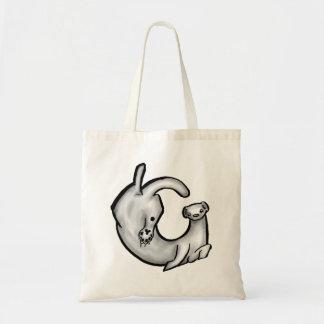 Curled Ferret Bag