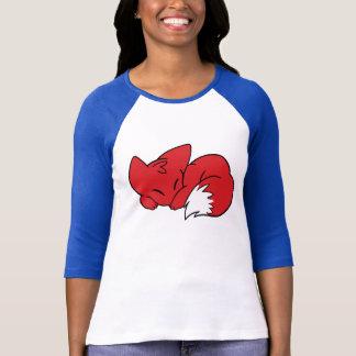 Curled Sleeping Fox T-Shirt