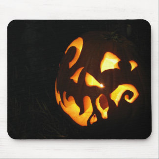 Curled Smile Mouse Pad