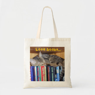 Curled Up with a Good Book Budget Tote Bag