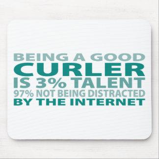 Curler 3% Talent Mouse Mats