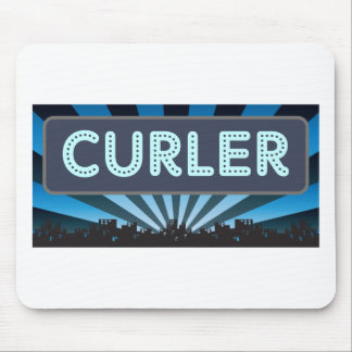 Curler Marquee Mouse Pads