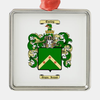 Curley Metal Ornament
