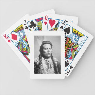 Curley, of the Crow tribe, one of Custer's scouts Bicycle Playing Cards