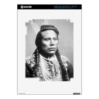 Curley, of the Crow tribe, one of Custer's scouts iPad 3 Skin