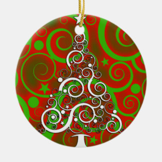 Curley Tree Ornament