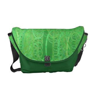 Curlicues Messenger Bag