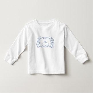 Curlie Cue Frame Toddler T-shirt