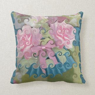 Curlie Flower Pillow