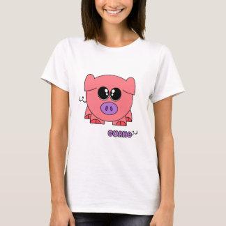 Curlie Pudgie Pet T-Shirt