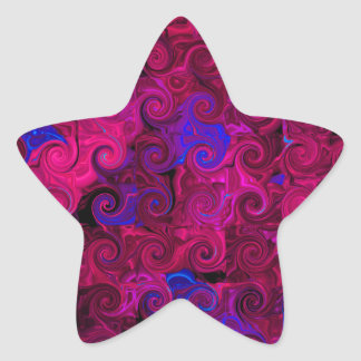 Curlies Pegatina En Forma De Estrella