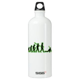Curling Aluminum Water Bottle