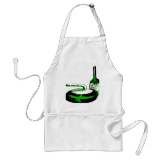 CURLING ADULT APRON