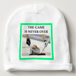 CURLING BABY BEANIE