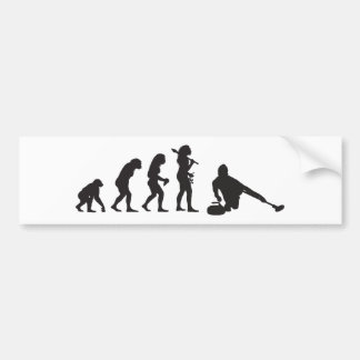 Curling Bumper Sticker