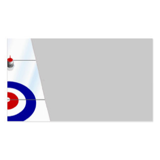Curling Business Cards