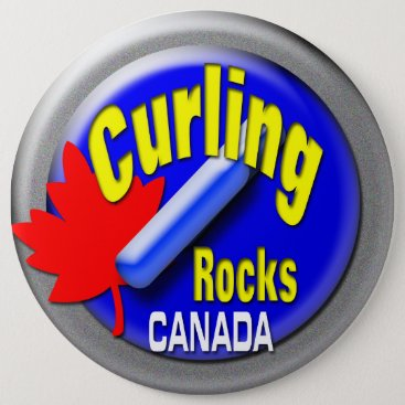USA Themed Curling Button