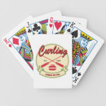 Curling: chess on ice bicycle card deck